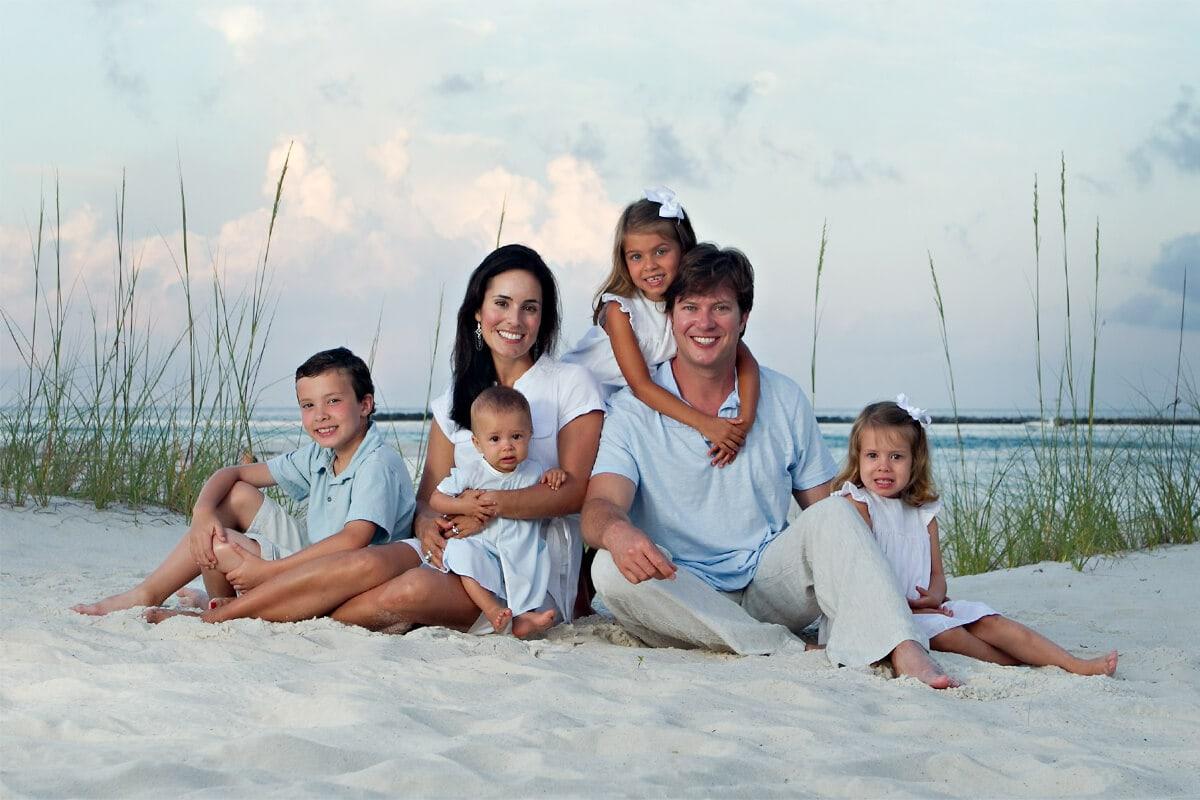 FamilyPortraits001 - Vacation Beach Portraits