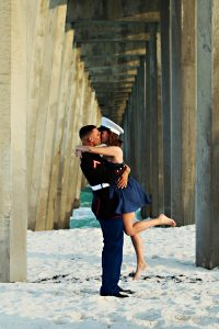 Pensacola Pier engagement session