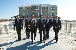 wedding photography in gulf shores al at Rumors Beach House