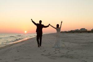Gulf-Shores-Wedding-day-sunset
