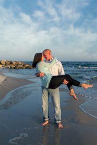 orange beach engagement session parker + bliss