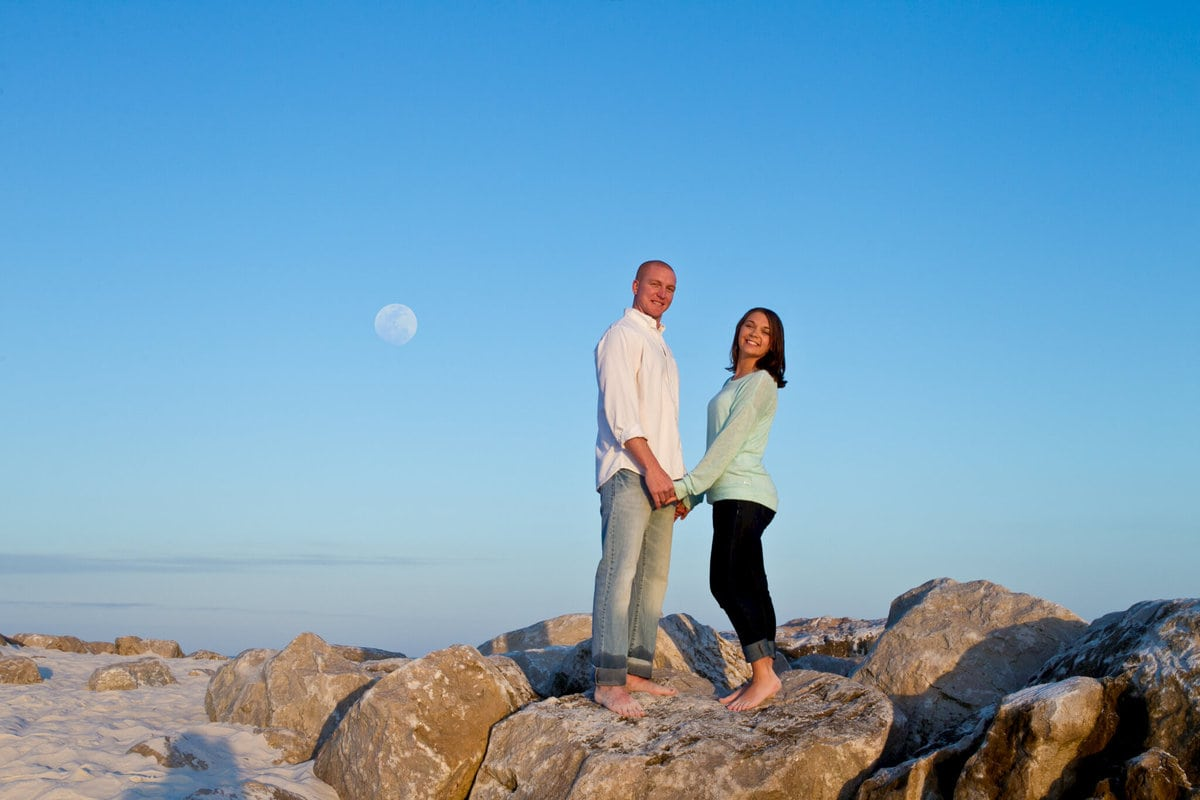 engagement moon images
