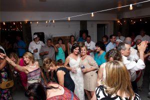 reception at the Veranda