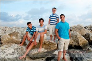 Orange Beach al family portraits