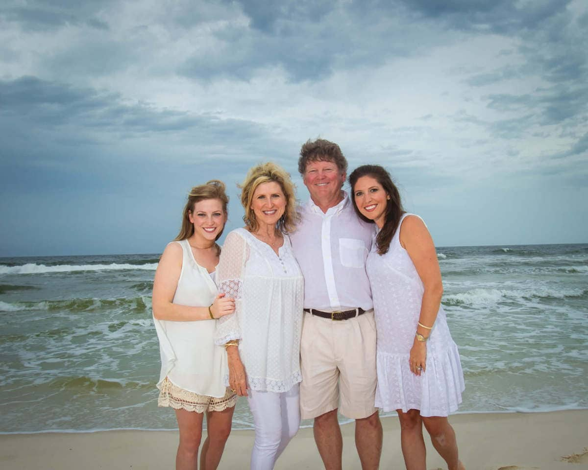 Family Portraits At The Beach Vacation Beach Portraits