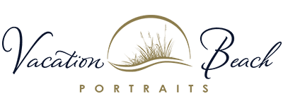 Vacation Beach Portraits Retina Logo
