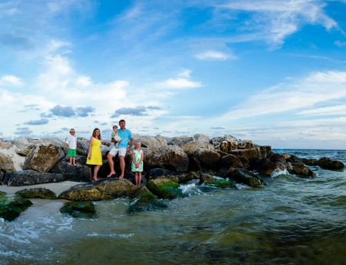 Family Portraits in Orange Beach Alabama | Turner Family