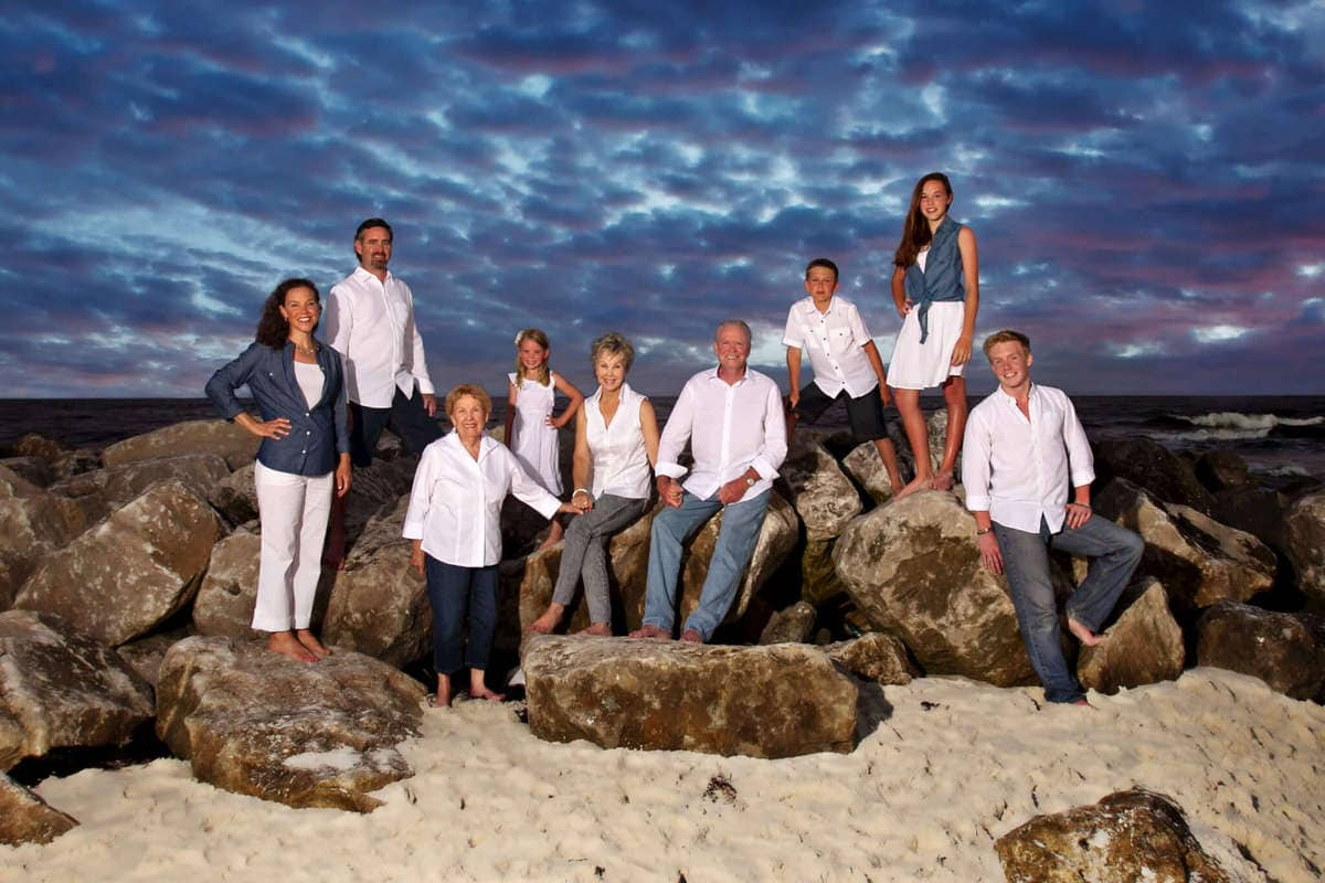 extended family portrait photographers in orange beach al